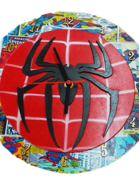 Reloj de pared Spider Man